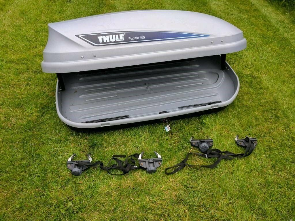 thule pacific 100 roof box in downend bristol gumtree. Black Bedroom Furniture Sets. Home Design Ideas