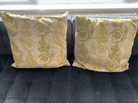 X2 big John Lewis big cushions
