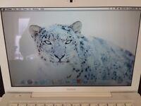 APPLE MACBOOK INTEL CORE 2 DUO 2.1GHZ 2GB RAM 120GB HDD WIFI WEBCAM OS X