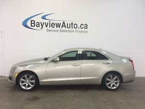 2014 Cadillac ATS LUXURY- AWD! TURBO! LEATHER! NAV! REV CAM!