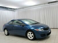 2010 Honda Civic 2DR COUPE w/ AUXILIARY INPUT, CD PLAYER AND TRU