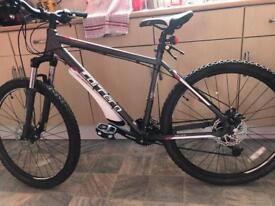 Ladies carerra mountain bike