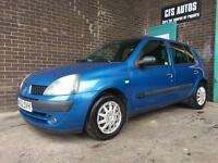 2003 RENAULT CLIO 1.2 *NEW CAMBELT* 5 DOOR