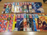 21 x Vintage 2000AD Judge Dredd Comics Joblot - Including Special 1st