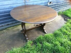 PRIORY/ERCOL DINNING TABLE