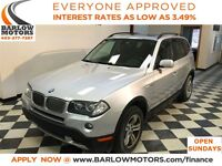 2007 BMW X3 3.0i heated seats Panoramic Roof *Everyone Approve