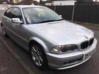 BMW 318 CI Coupe, 2002-52 Reg, 100k, S History, Long MOT, 3 Series, Manual Not 316 320 323 325 330
