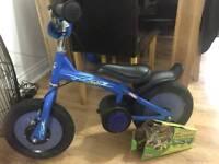 Balance bike into peddle bike