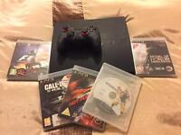 Sony PlayStation 3 inc Games and Controller