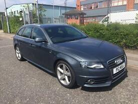 ***AUDI A4 1.8 TFSI FULL SERVICE HISTORY+ONLY 1 OWNER+S-LINE***£5990!