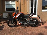 KTM Duke 125cc - nearly new