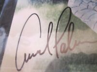 ARNOLD PALMER HAND SIGNED AUTOGRAPH