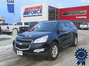 2010 Chevrolet Traverse LT Front Wheel Drive, 96,222 KM, Seats 7