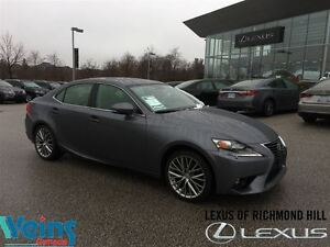 2015 Lexus IS 250 LEATHER | MOON ROOF | LOW KM