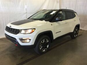 2017 Jeep Compass Trailhawk +Cuir, Hitch+