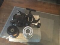 John Wilson baitrunner x3 spools boxed as new,