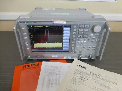 Anritsu Ms2690a 50 Hz - 6 Ghz Vector Signal Analyzer Generator - Calibrated