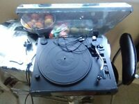 Turntable stereo system