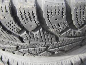 4---205/75R15 Hankook Winter  I-Pike---snowflake---Rims available