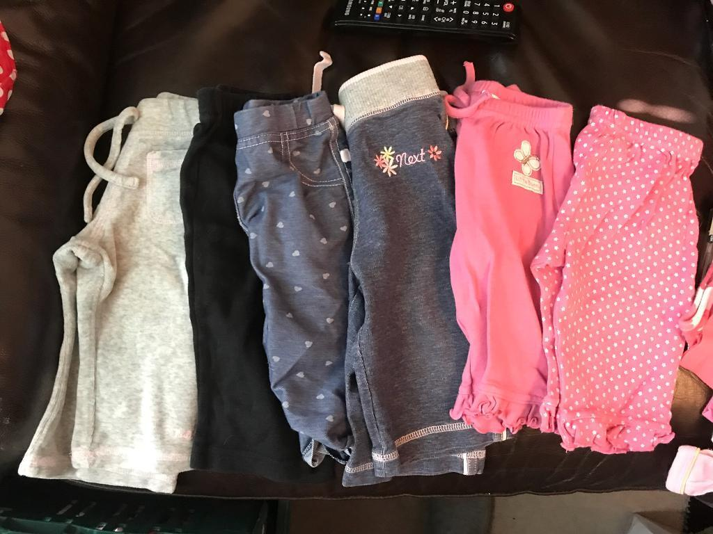 **REDUCED, NEED GONE** 3-6 months baby girls clothes ... nearly 60 items