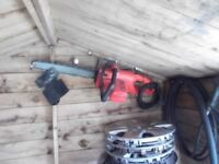 black and decker electric chainsaw