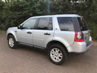 Land Rover freelander 2 XS 2.2 td4 Diesel 4wd 6 Speed 10plate FSH SAT NAV