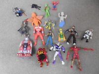 Selection of Action figures