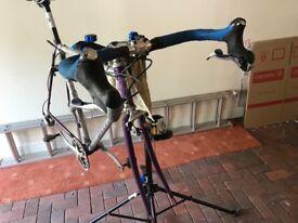 Road bike frame plus parts