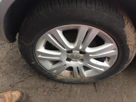 vauxhall astra alloy wheels 205/55/16 tyres