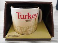 "Starbucks ""Turkey"" Icon Series - Demitasse Cup / Mini Mug - in original box, unused"