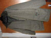 Lavenir Tweed Shooting/country/ fishing coat as new, XL, UNWORN