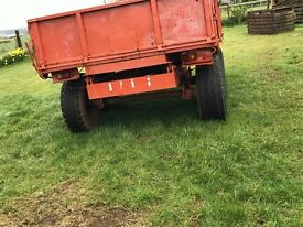 12*7 marcel trailer in 100% perfect condition