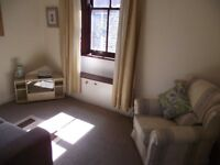 A very comfortable, fully furnished 2 bedroomed apartment in Dumfries town centre