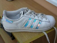 Converse & Adidas Trainers size 5.5