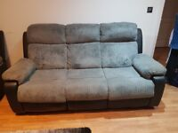 3 seater and 2x1 seater recliner
