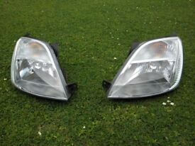 £50 both headlights for Ford fiesta MK6, good condition