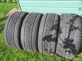 4 Used Winter Tyres
