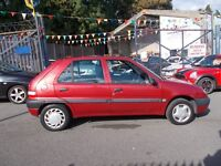 Citroen Saxo 1.1 i Forte 5dr LADY OWNED LOW INSURANCE
