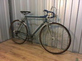 Vintage racer bike needs restoration