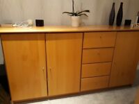 Solid Beech Sideboard - Free
