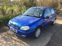 2003 Citroen Saxo 1.1 MOT March 2018, Service History