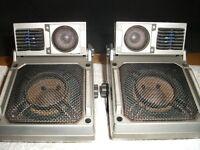 2 X TECHNICS SPEAKERS.