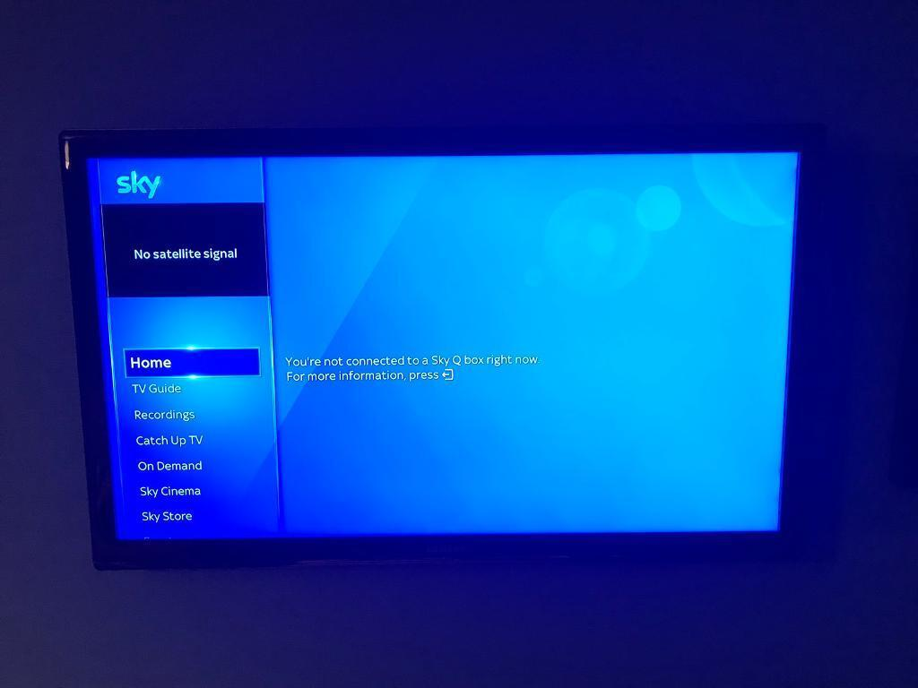"""Samsung 40"""" 3D HD TV 