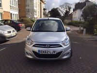 2012 62 HYUNDAI I10 ACTIVE SILVER 14,000 MILES ONLY CAT D REPAIRED IN EXCELLENT CONDITION