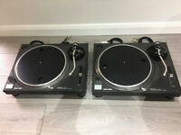 Pair of Used Technics 1210 Mk2