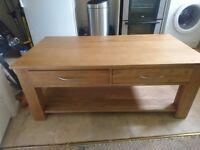 Mobel Solid Oak Coffee Table
