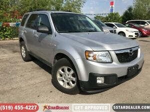 2011 Mazda Tribute GS V6 | 4X4 | SAT RADIO | BLUETOOTH