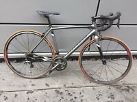 Racer used a couple of time, in retail £1200 Shimano Tiagra, serieDSW, size 54