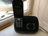 Panosonic home telephone with answering machine. Perfect. Works brilliantly. £6 down from £8.