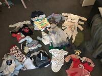 FREE BABY BOY CLOTHES (newborn/0-3months)